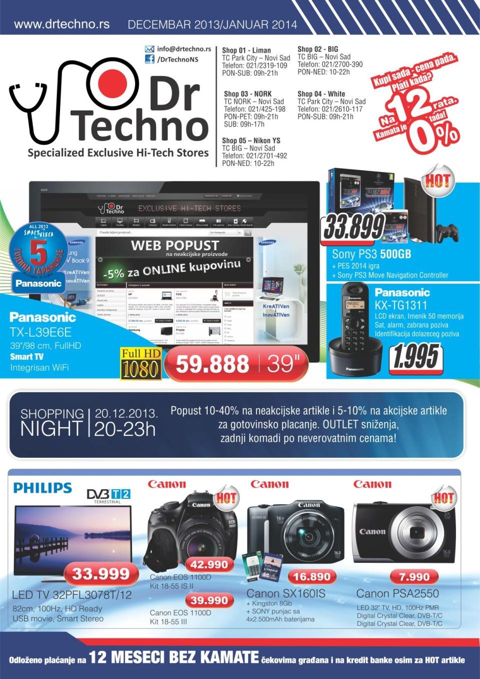 Dr. Techno katalog super cena