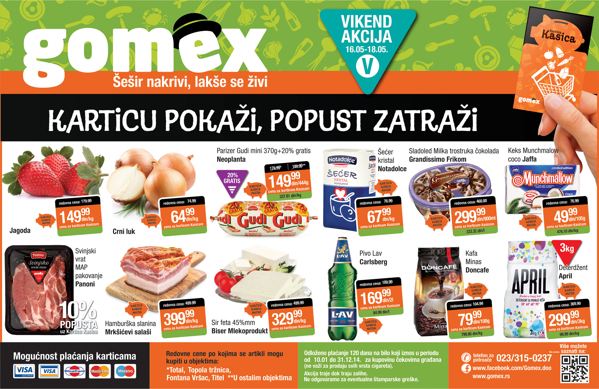 Gomex akcija vikend niskih cena počinje