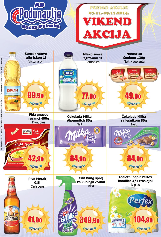 AD Podunavlje akcija vikend super cena počinje