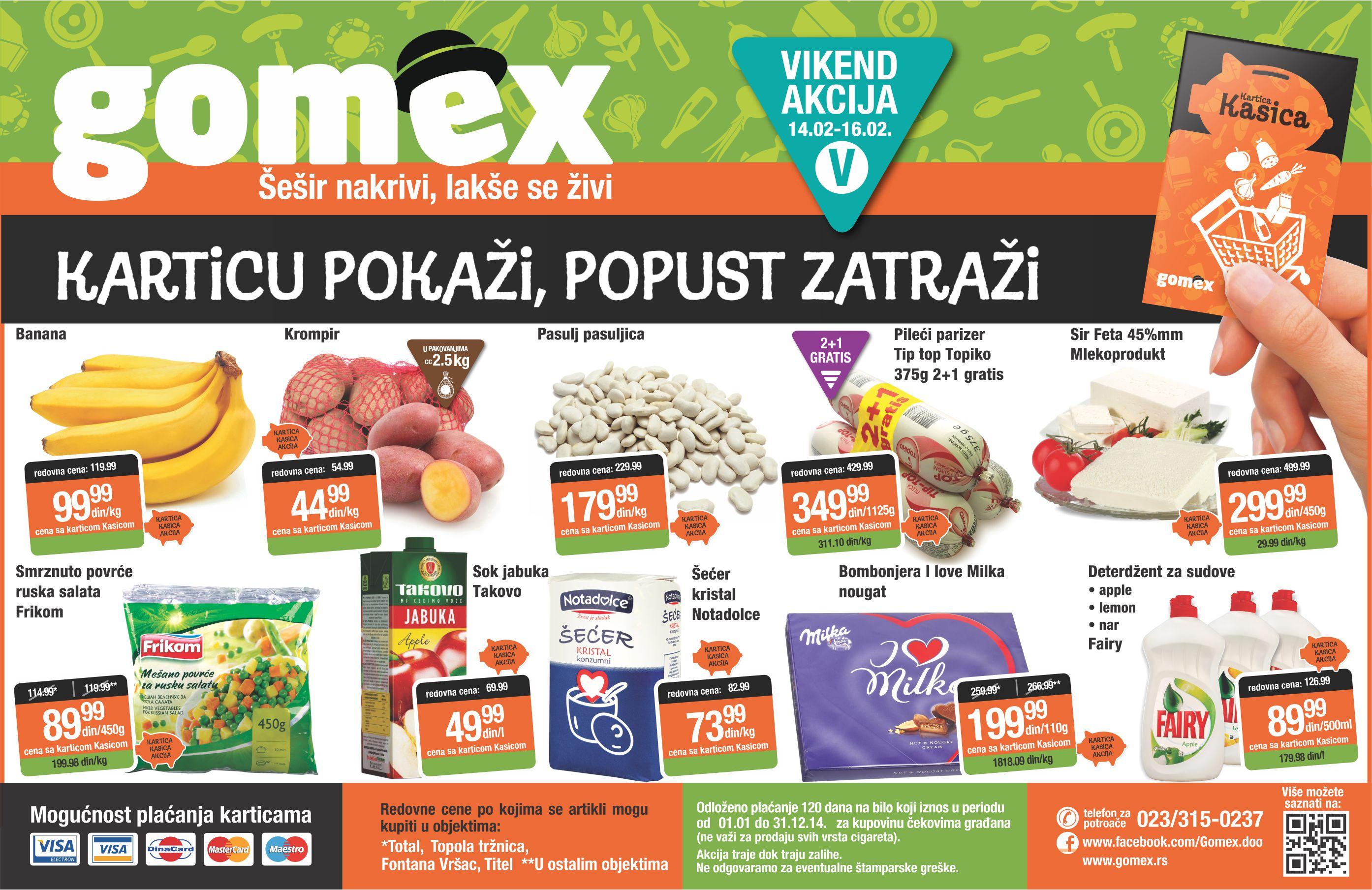 Gomex katalog vikend super cena počinje