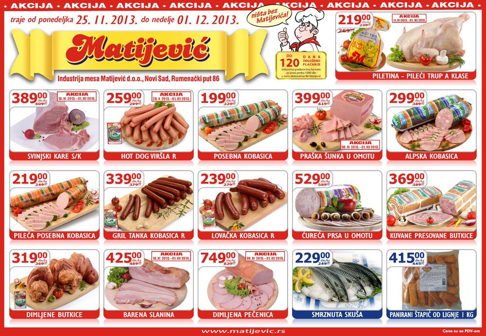 Matijević katalog super ponuda prehrane