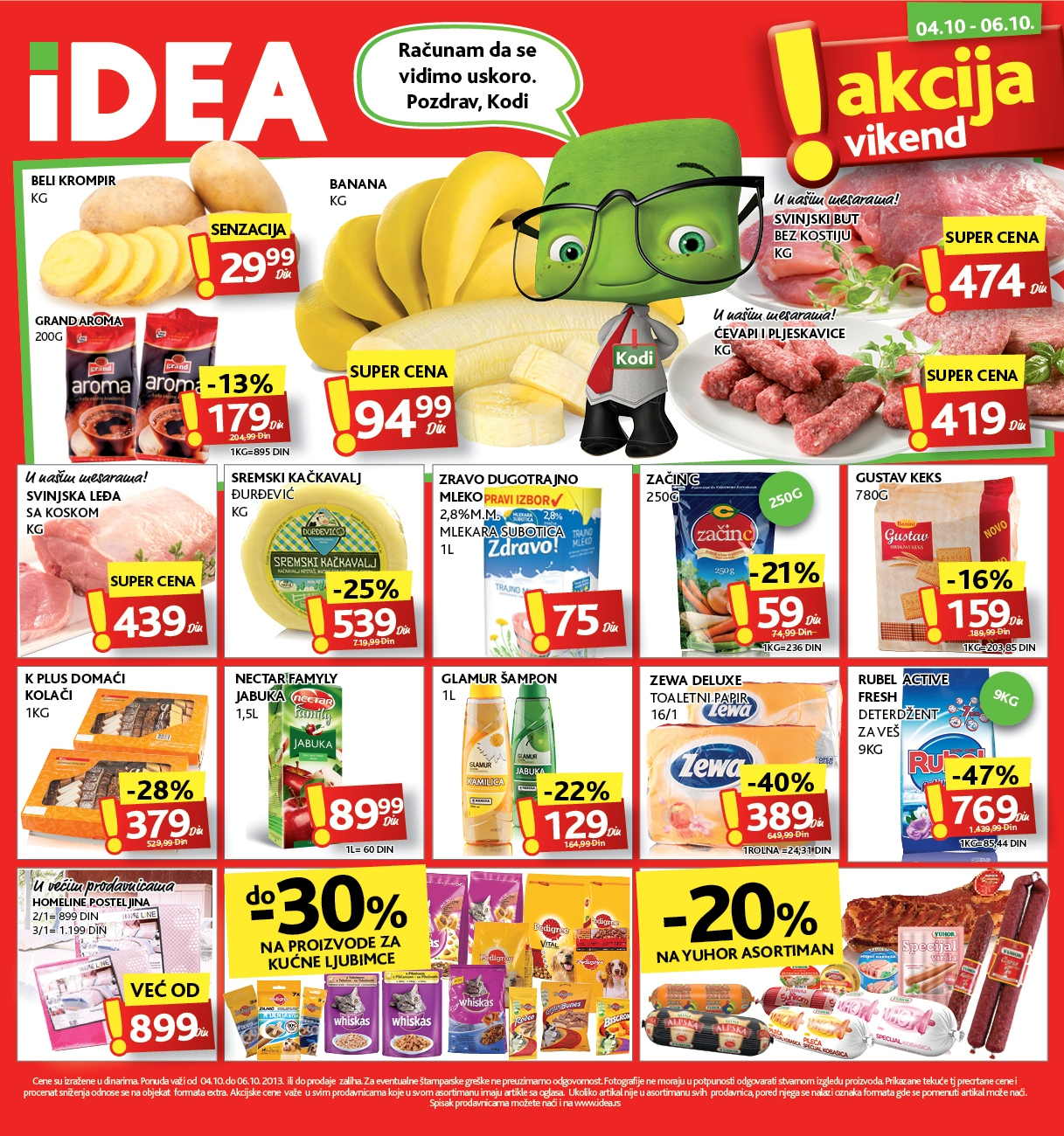 Idea katalog vikend super cena