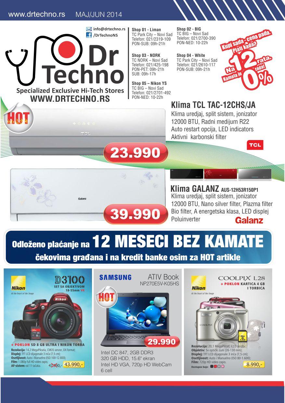 Dr. Techno katalog niskih cena