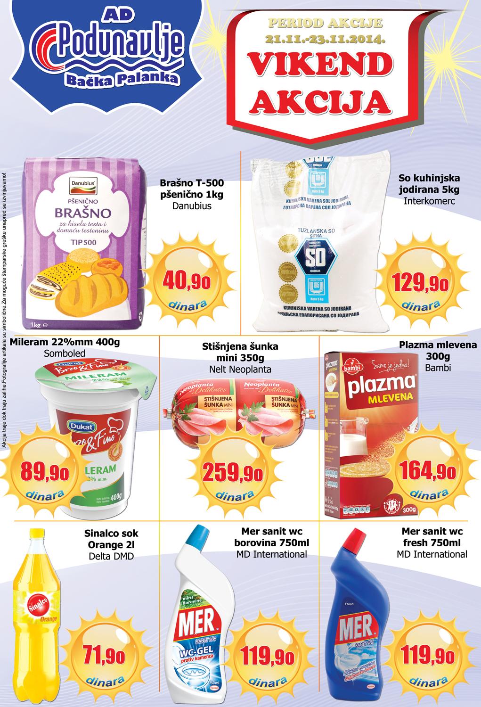 AD Podunavlje akcija vikend odličnih cena