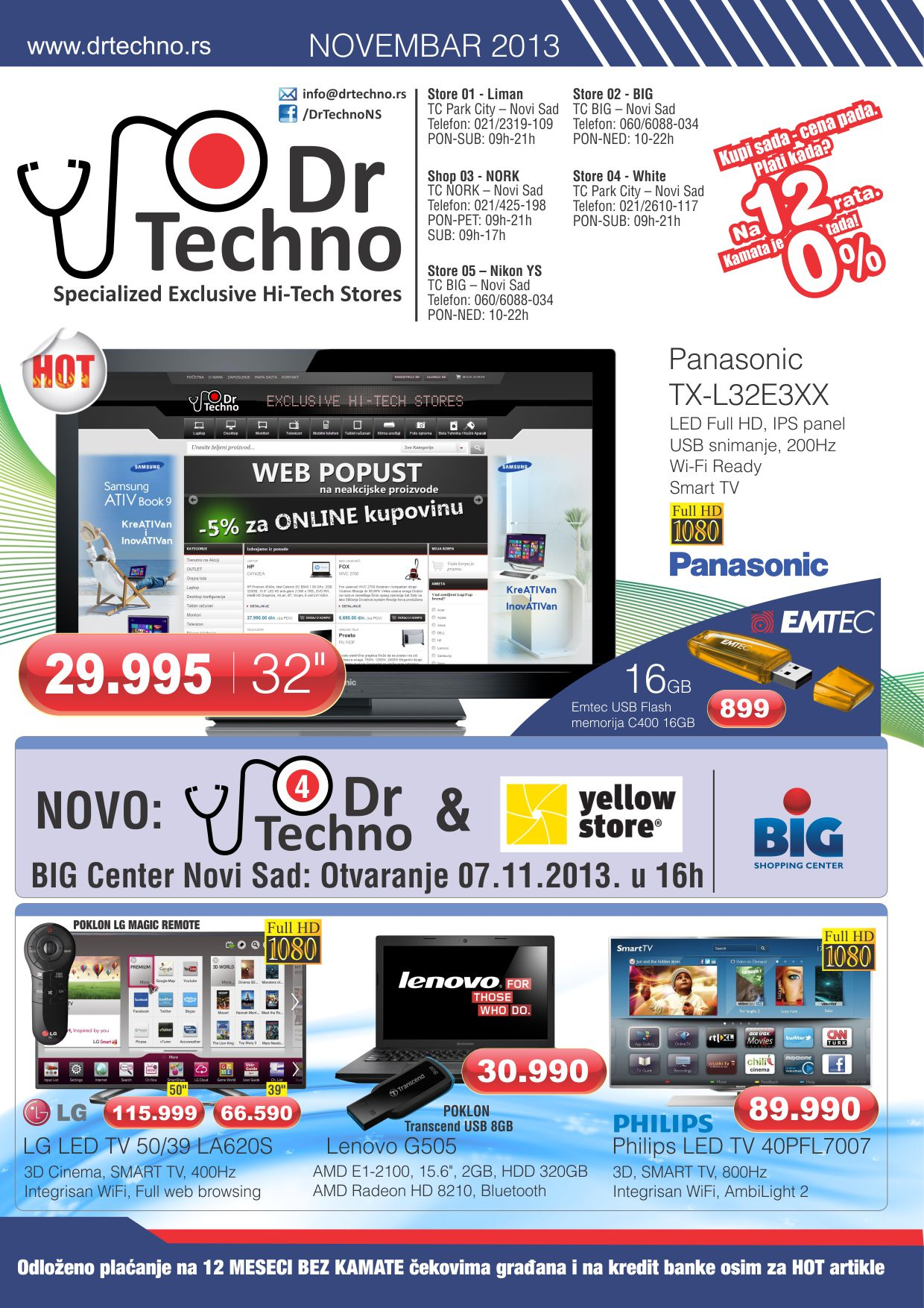 Dr. Techno katalog super kupovine