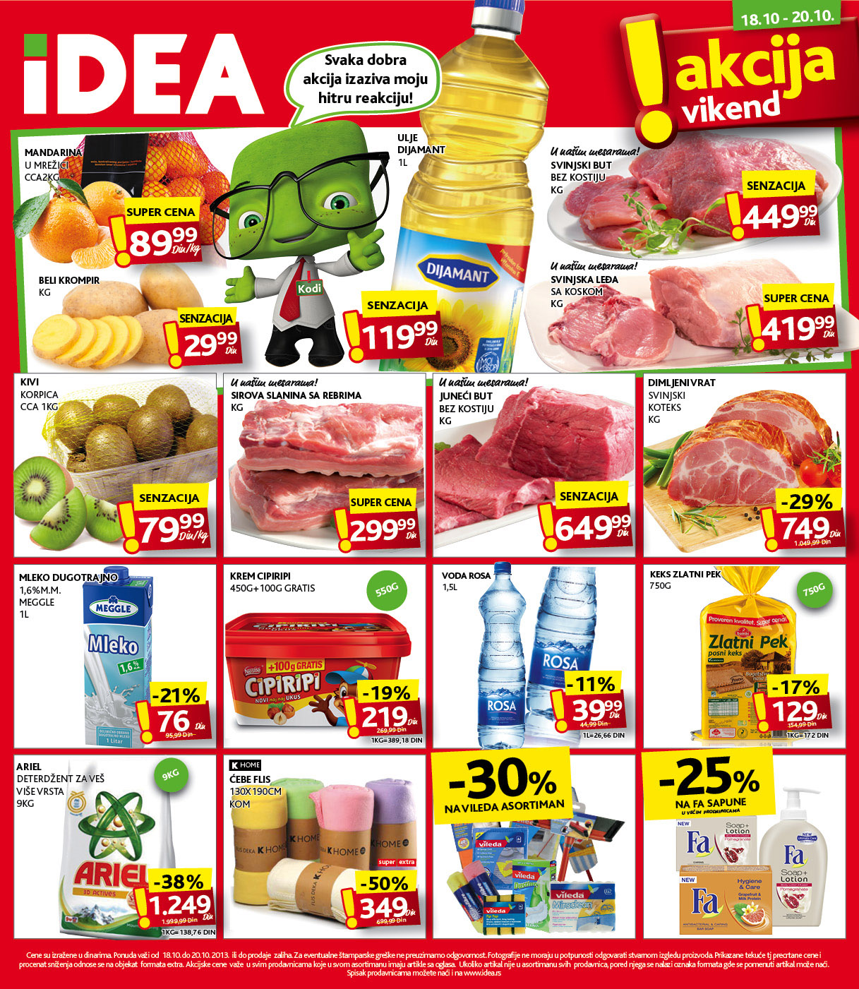 Idea katalog vikend super kupovine