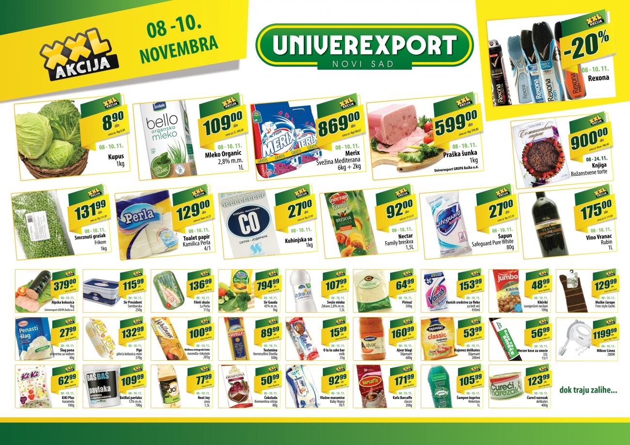 Univerexport katalog odličnih pousta