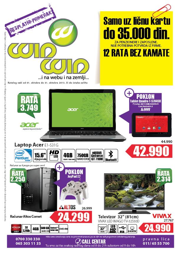 Win Win katalog najbolja ponuda za vas