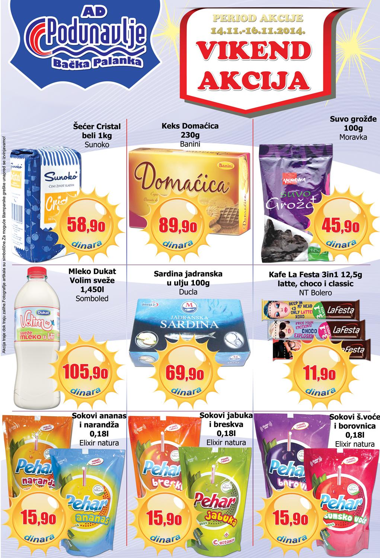 AD Podunavlje akcija počinje vikend super cena