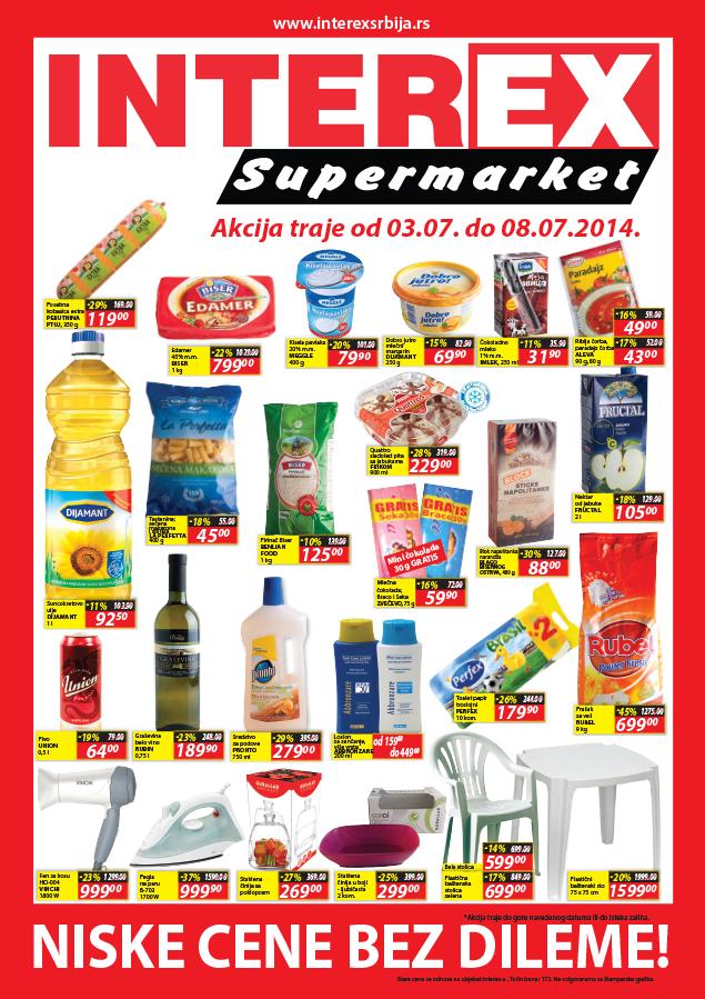 Interex akcija super cena