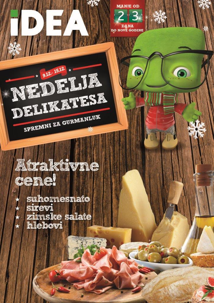 Idea katalog nedelja delikatesa