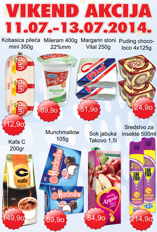 AD Podunavlje akcija vikend super cena za vas