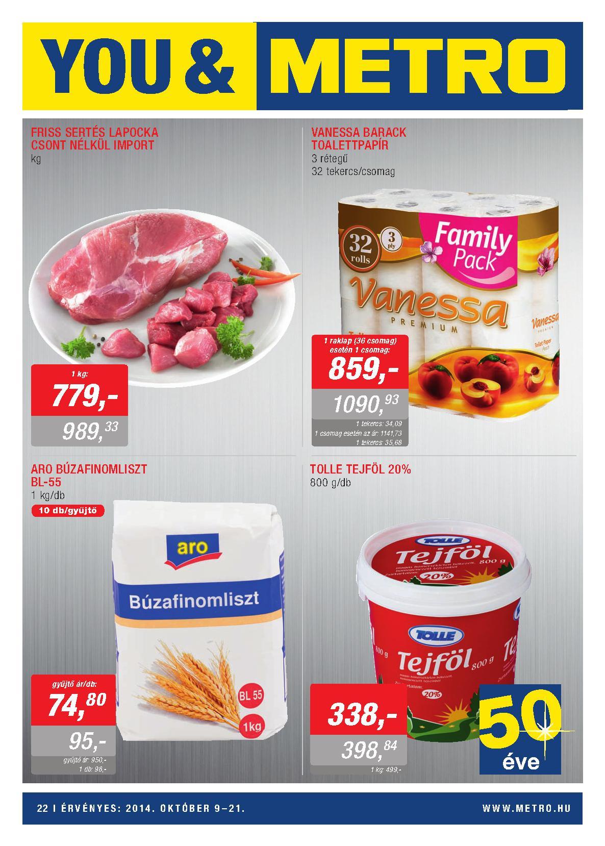 Metro Mađarska akcija prehrana