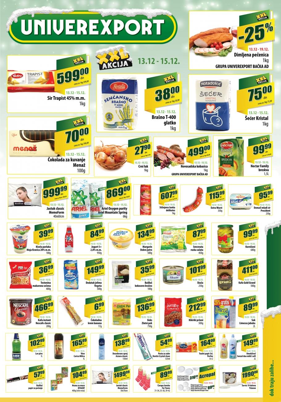 Univerexport katalog odlične kupovine