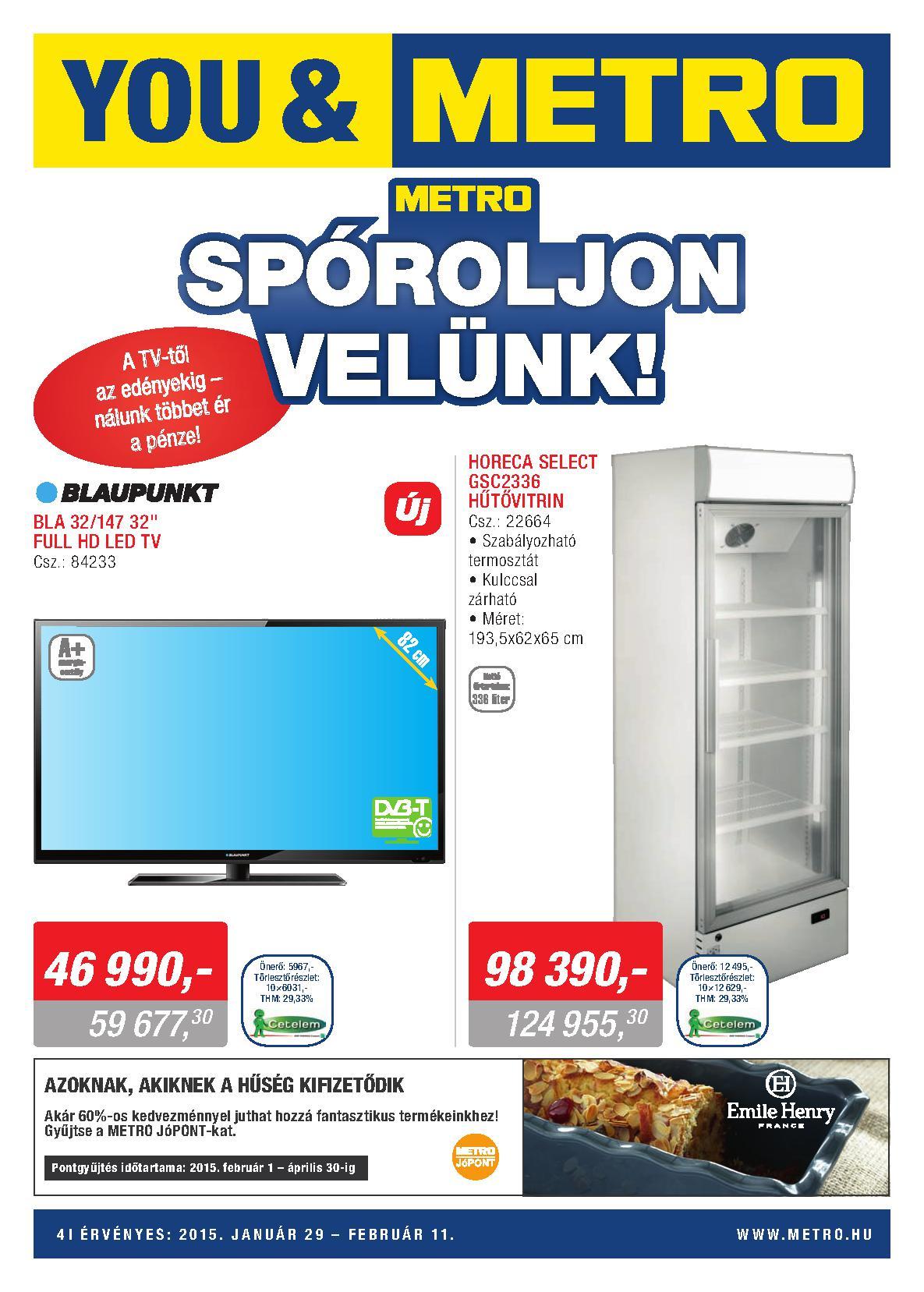 Metro Mađarska sezonska ponuda