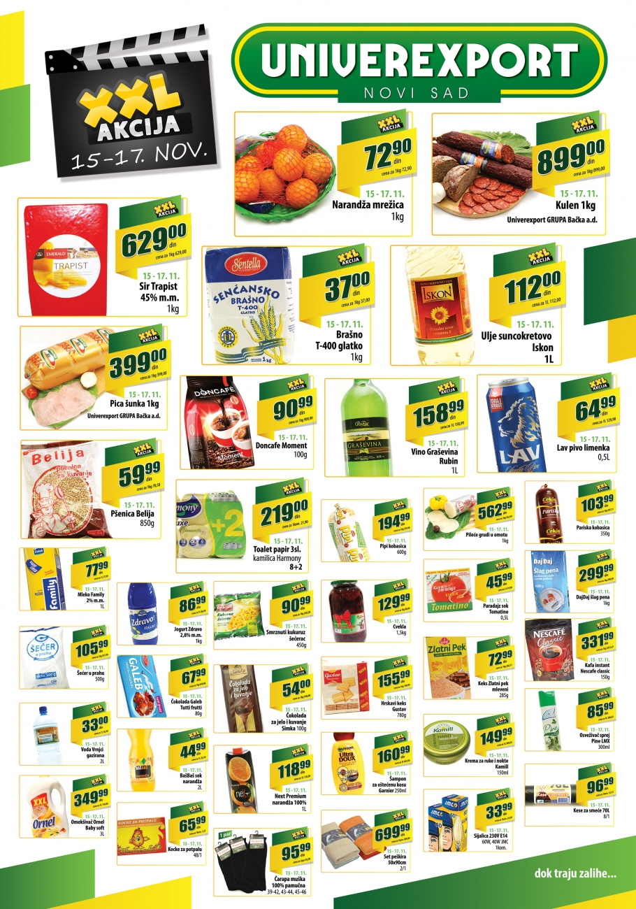 Univerexport katalog vikend super ponude