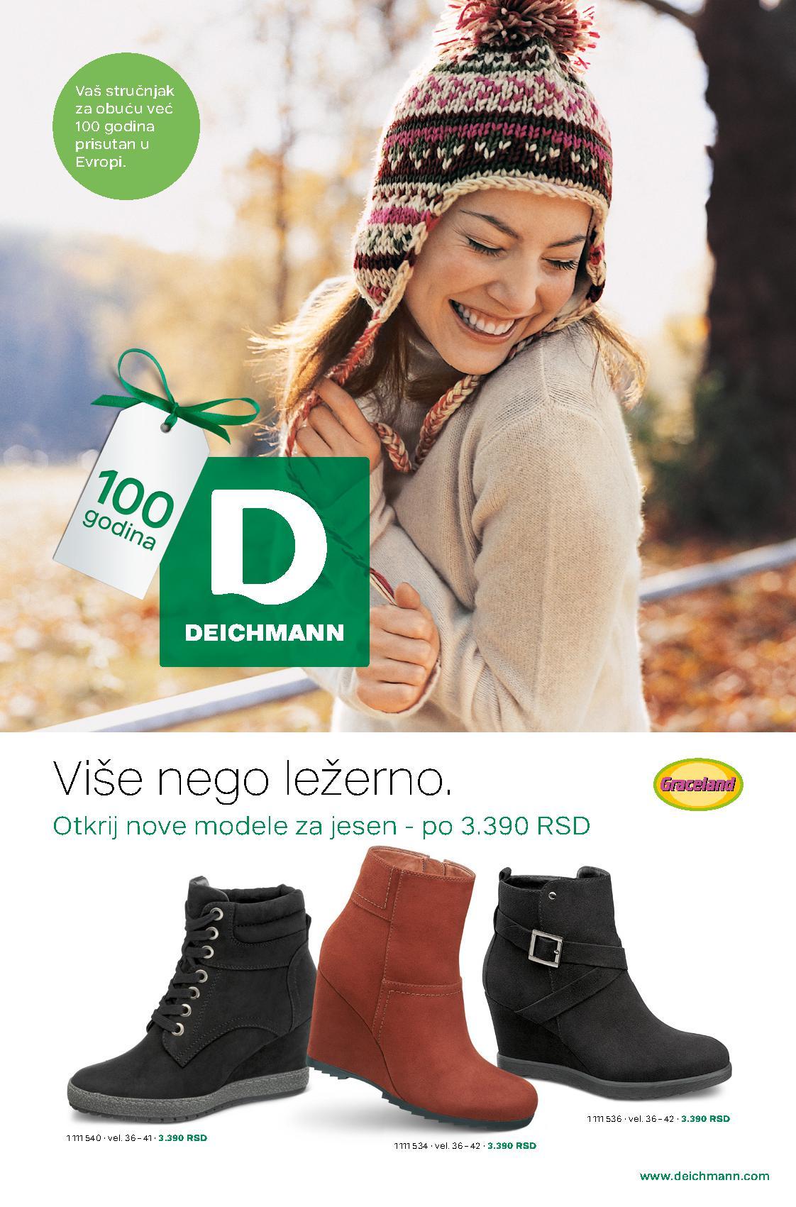 Deichmann katalog obuća za haldnije dane