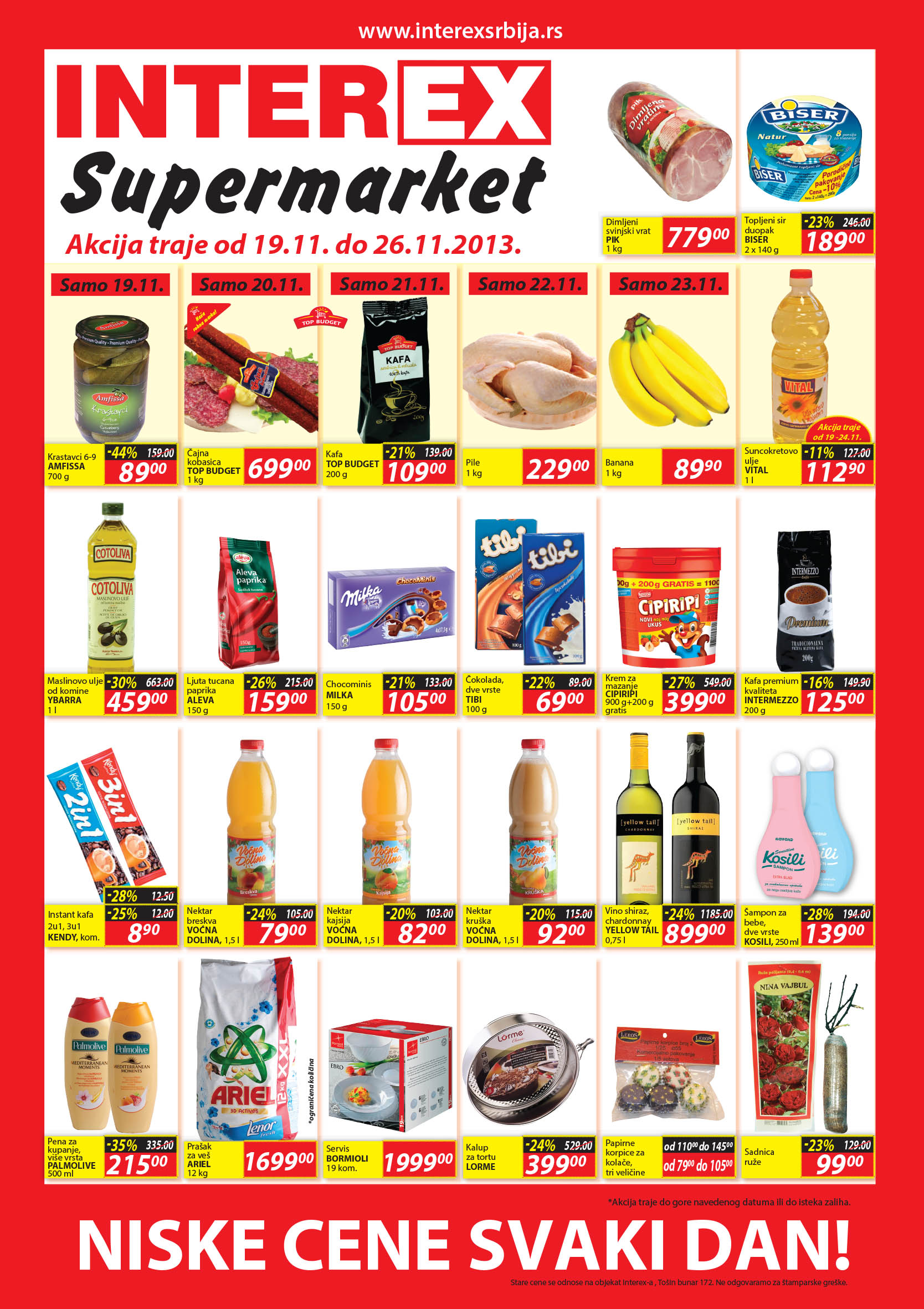 Interex katalog super ponude