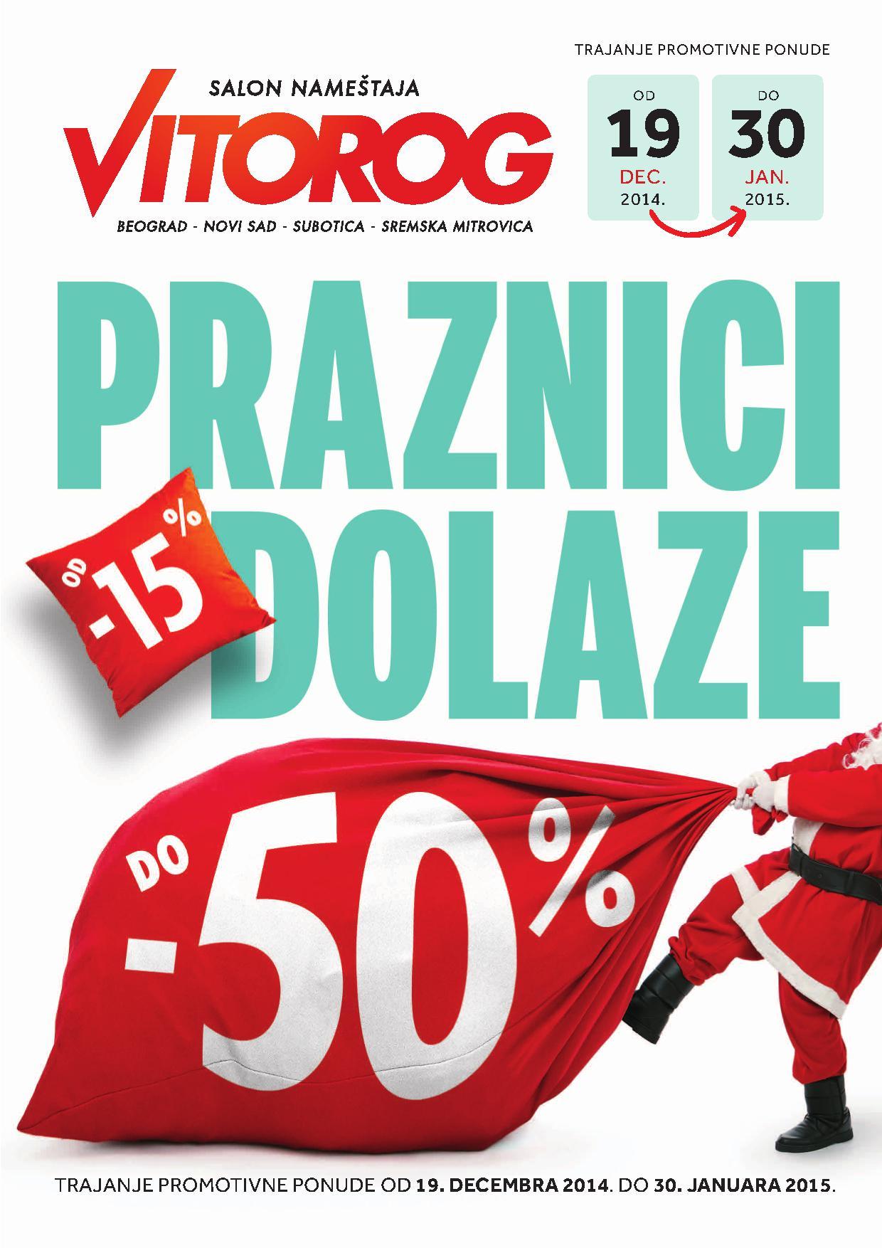 Vitorog akcija novogodišnje ponude