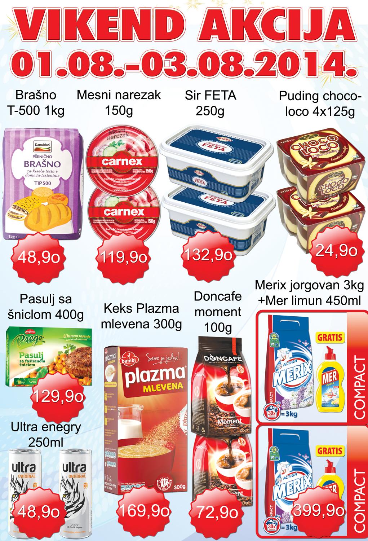AD Podunavlje akcija vikend super kupovine
