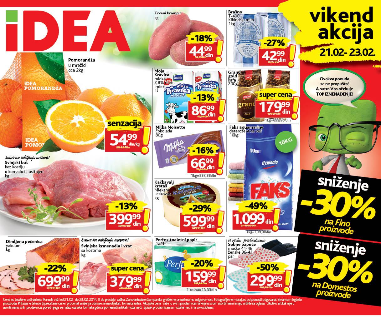 Idea katalog vikend dobre kupovine samo za vas