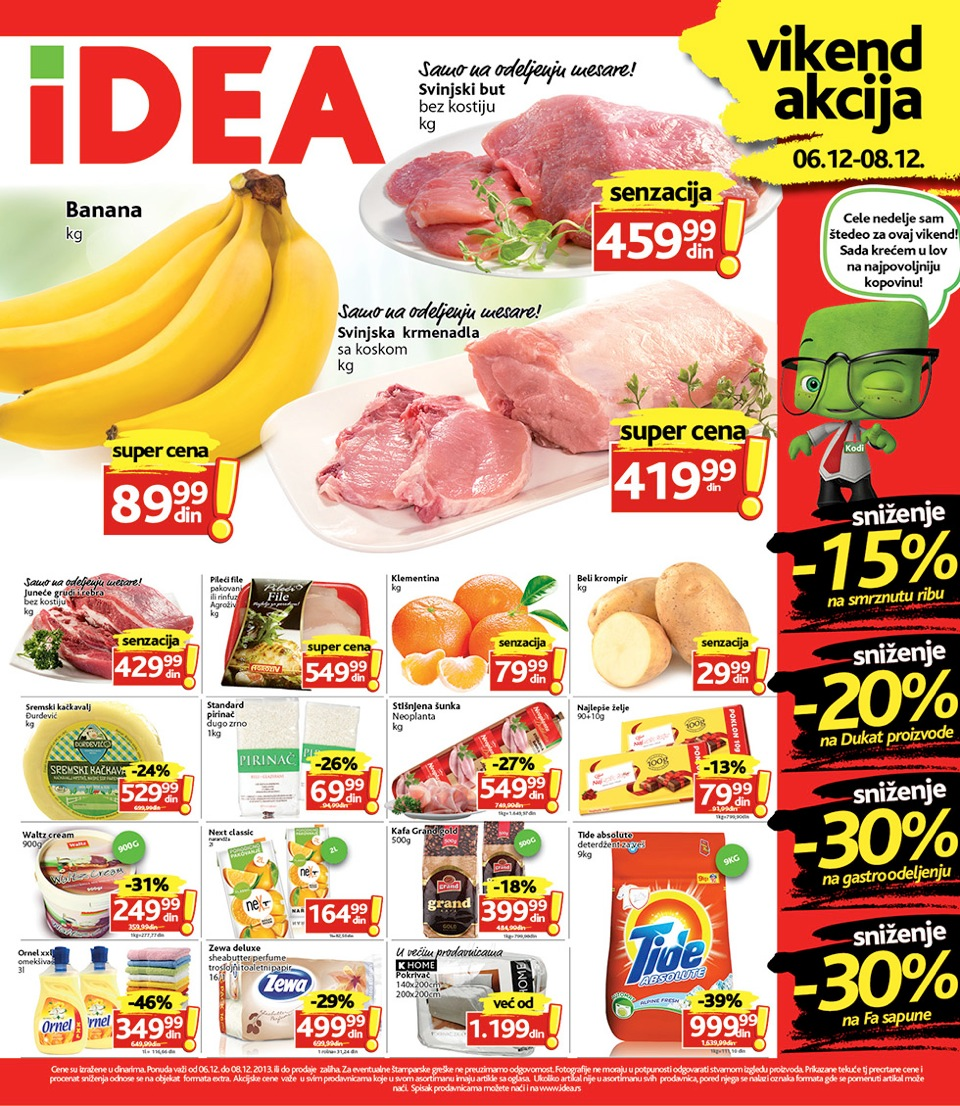 Idea katalog vikend super kupovine za vas