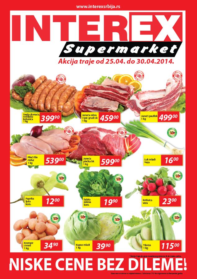 Interex akcija produženi vikend super cena