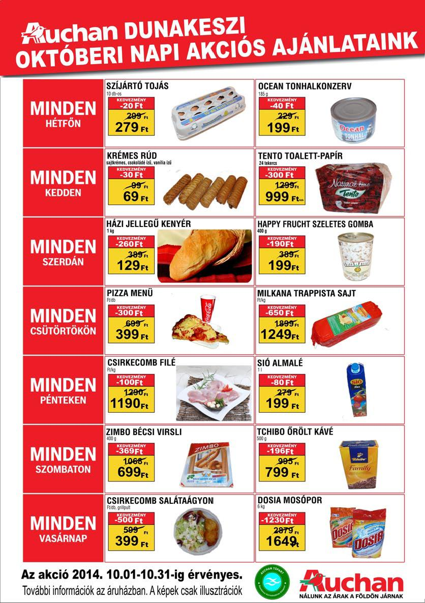 Auchan akcija super cena u oktobru