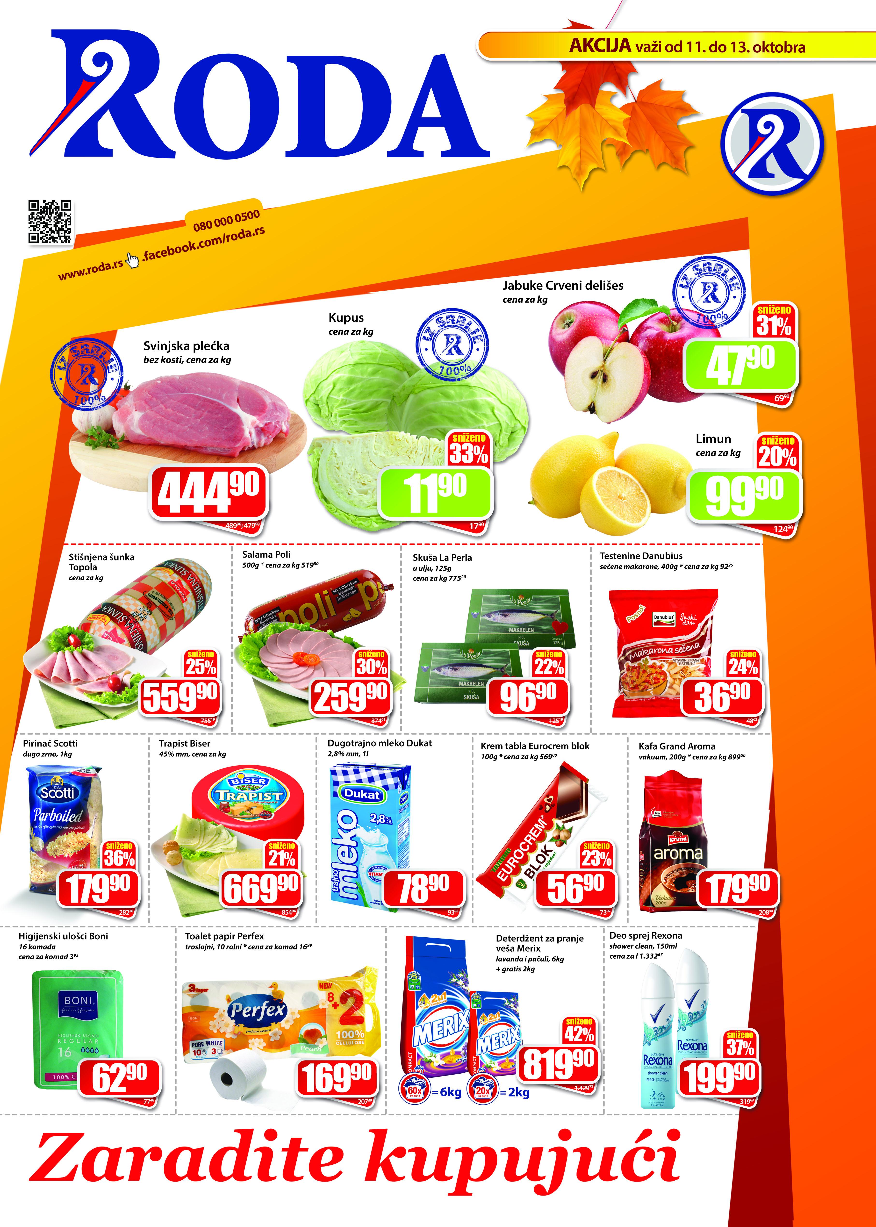 Roda katalog vikend akcija super cena