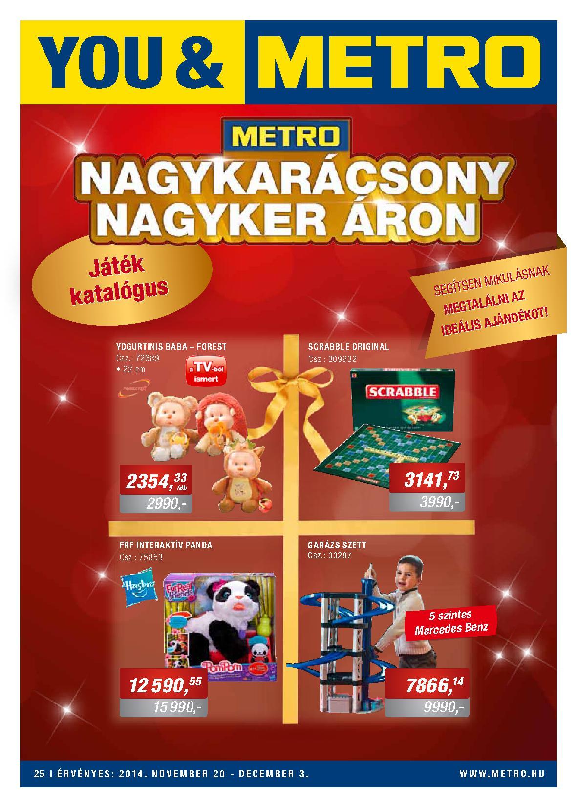 Metro Mađarska akcija igračke po super ceni