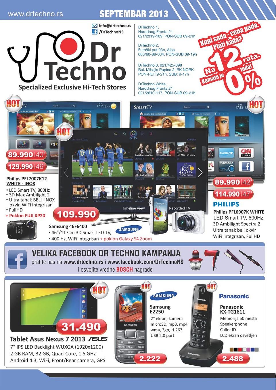Dr. Techno katalog odličnih cena