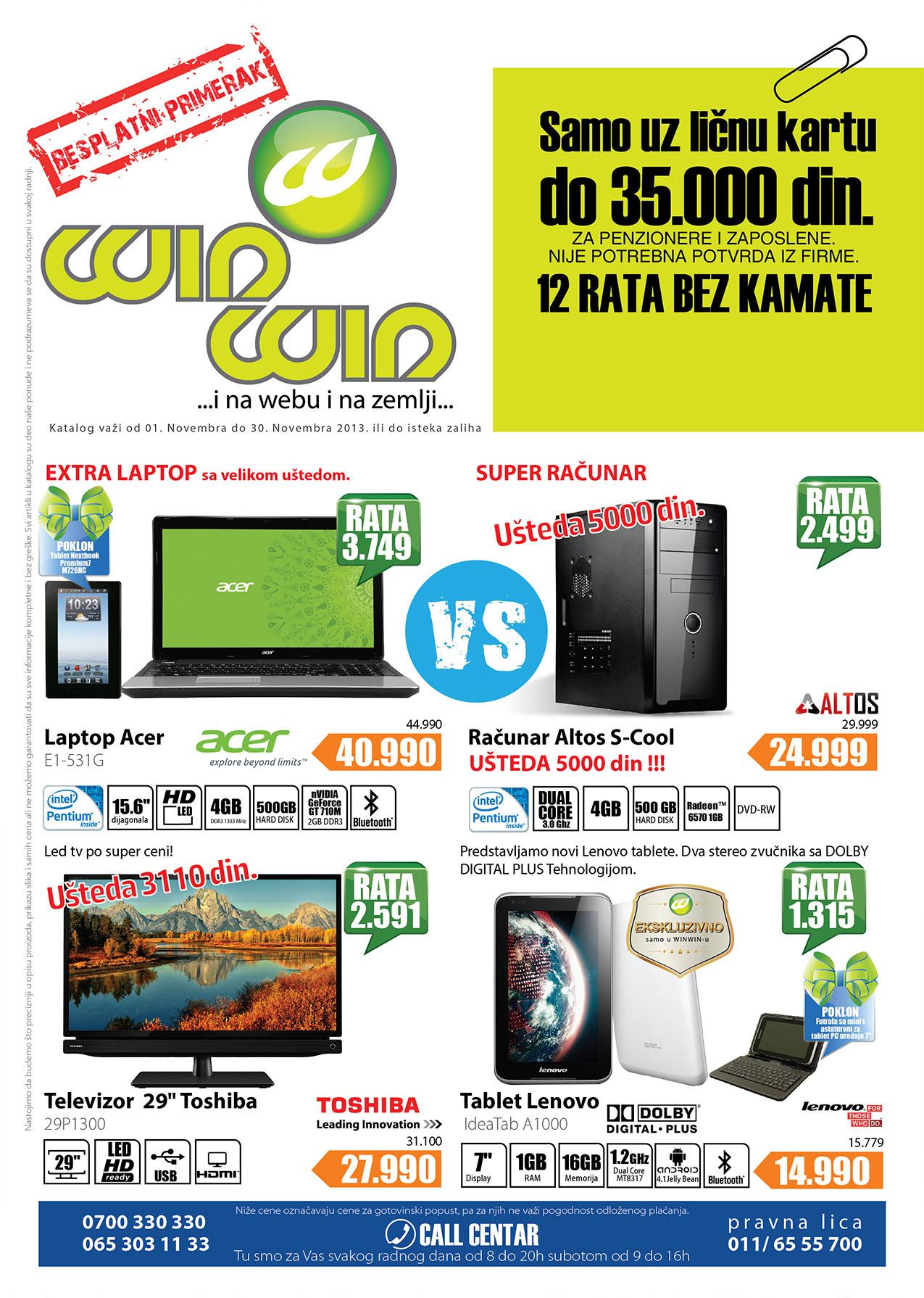 Win Win katalog odlične ponude