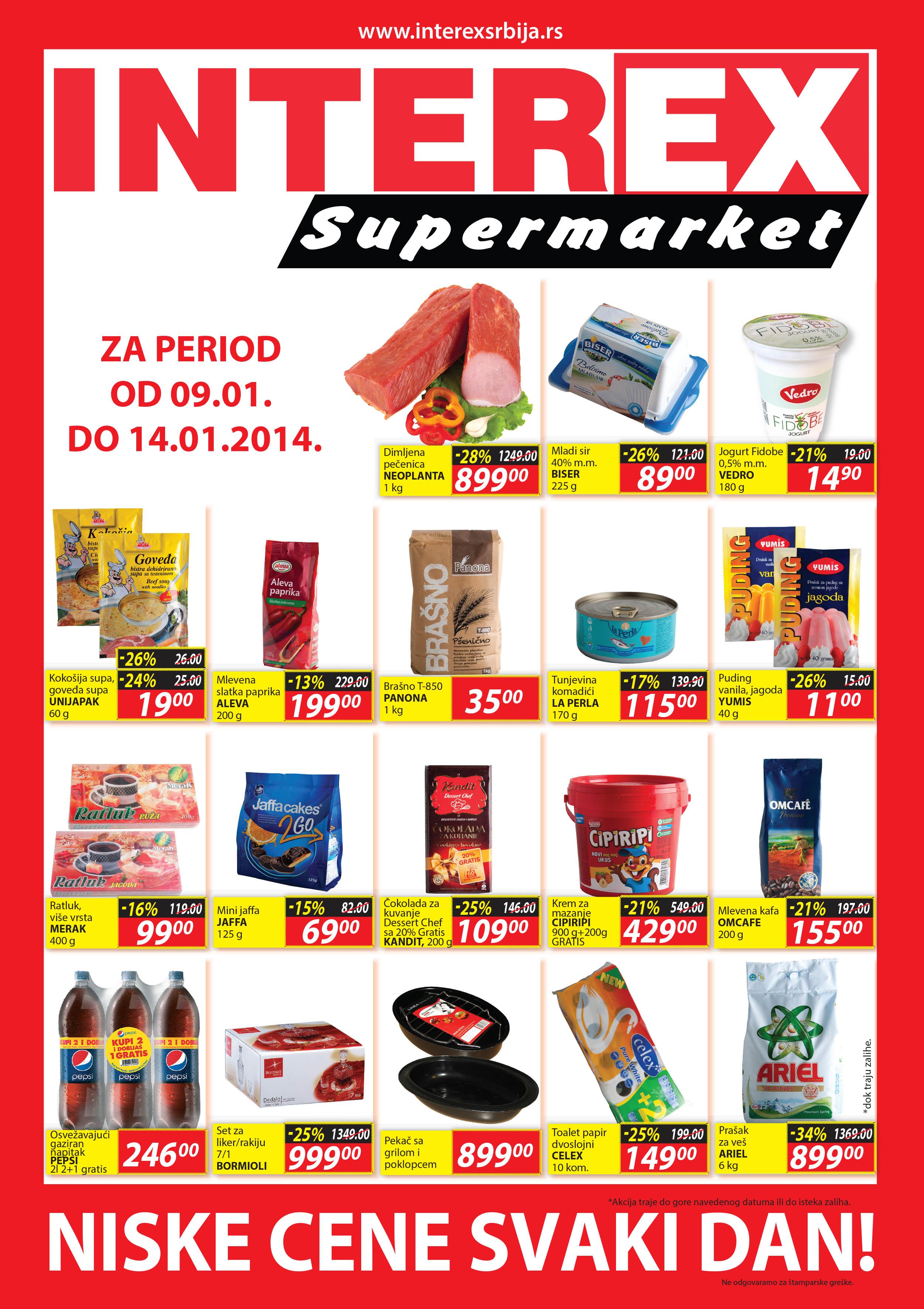 Interex katalog povoljnih cena