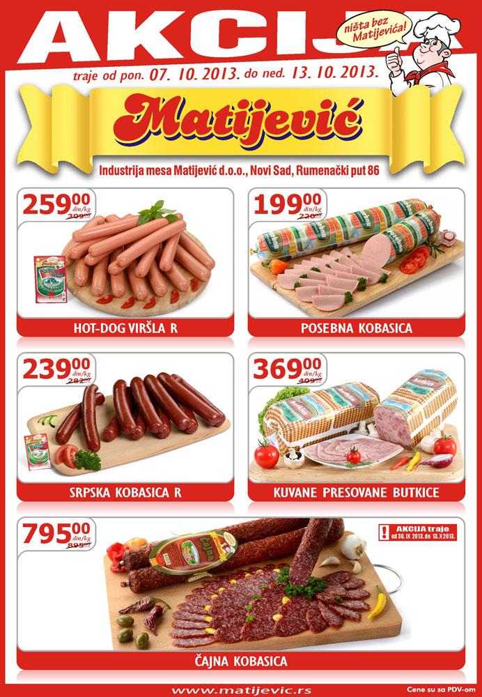 Matijević katalog super cena