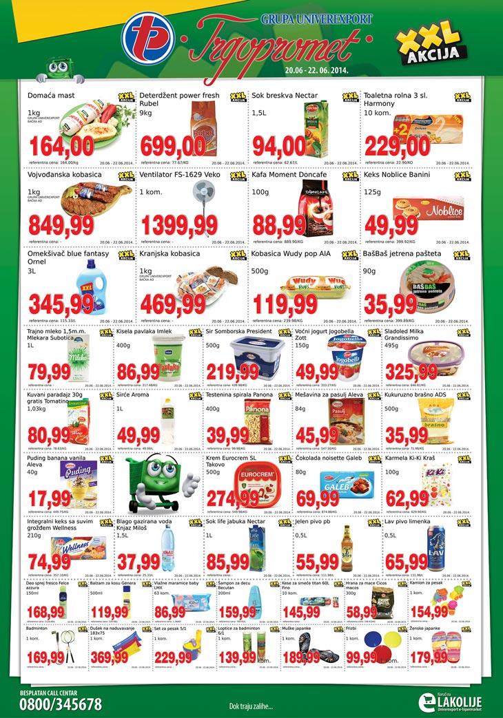 Trgopromet akcija vikend sjajne kupovine
