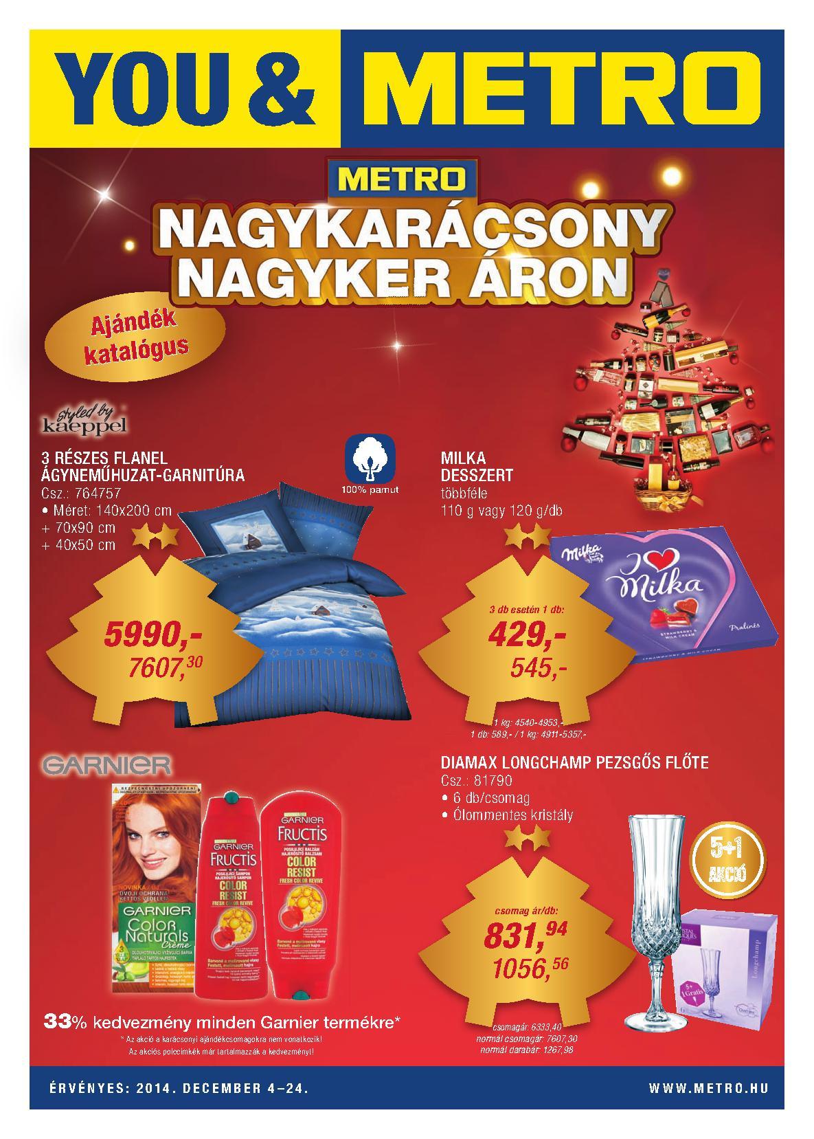Metro Mađarska akcija pokloni decembarska ponuda