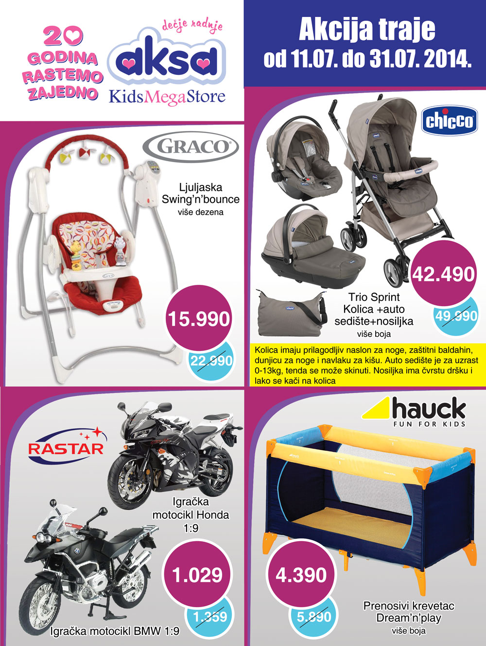 Aksa katalog najbolje za vaše dete