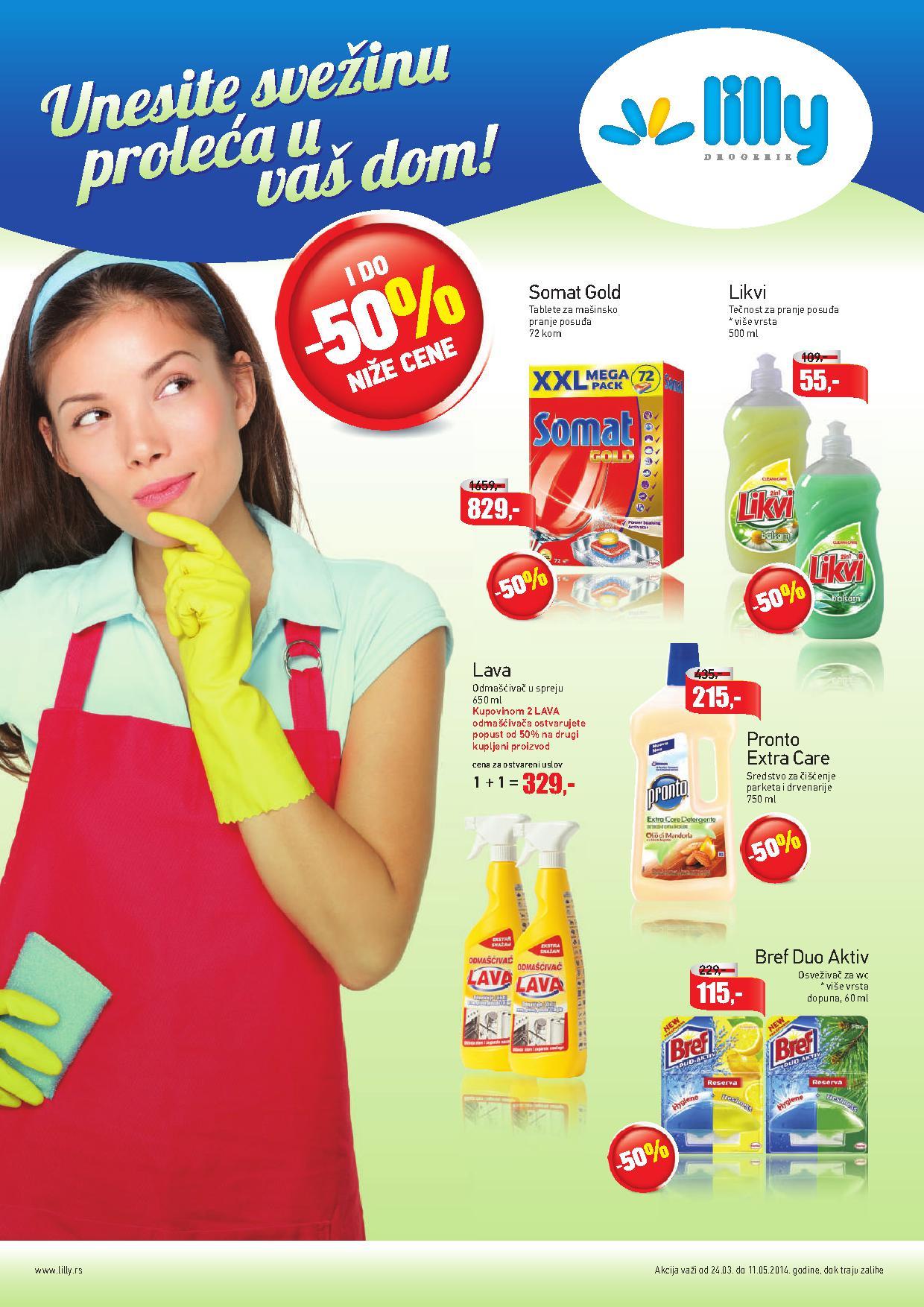Lilly katalog sve za vaš čist dom