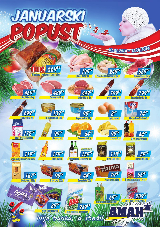 Aman katalog vikend prazničnih cena