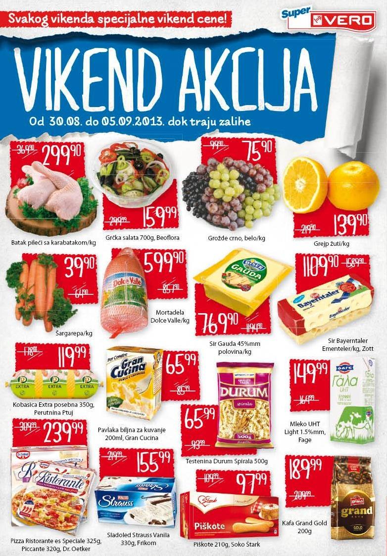 Super Vero katalog vikend odličnih cena