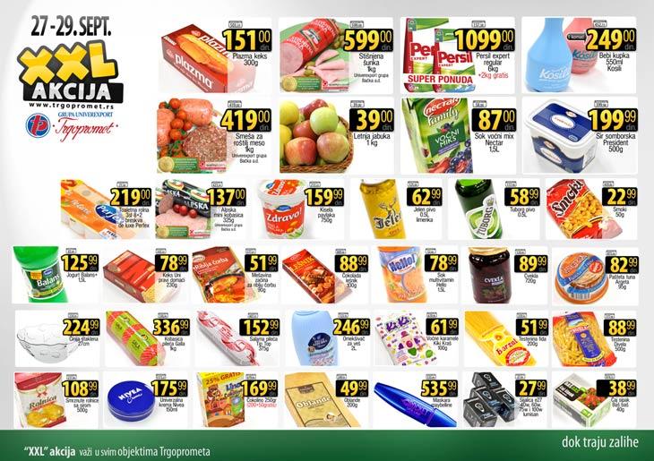 Trgopromet katalog vikend dobre kupovine