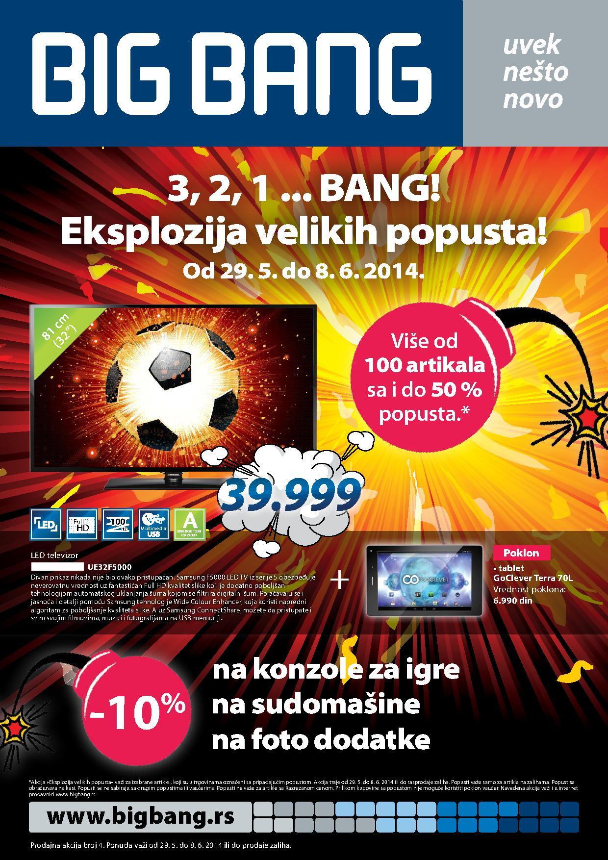 Big Bang akcija nedelja super cena
