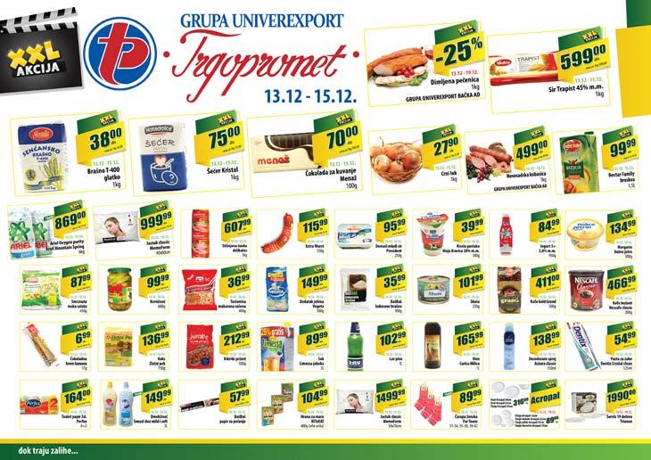 Trgopromet katalog vikend super cena