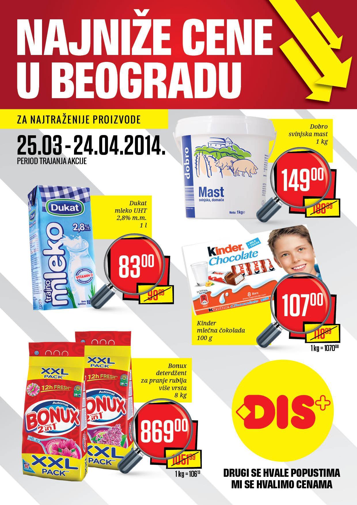 Dis katalog najbolja ponuda u Beogradu