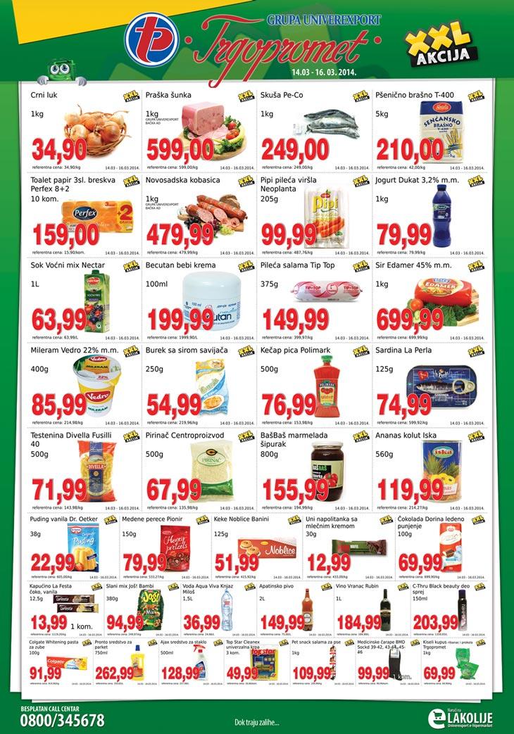 Trgopromet katalog vikend povoljnih cena