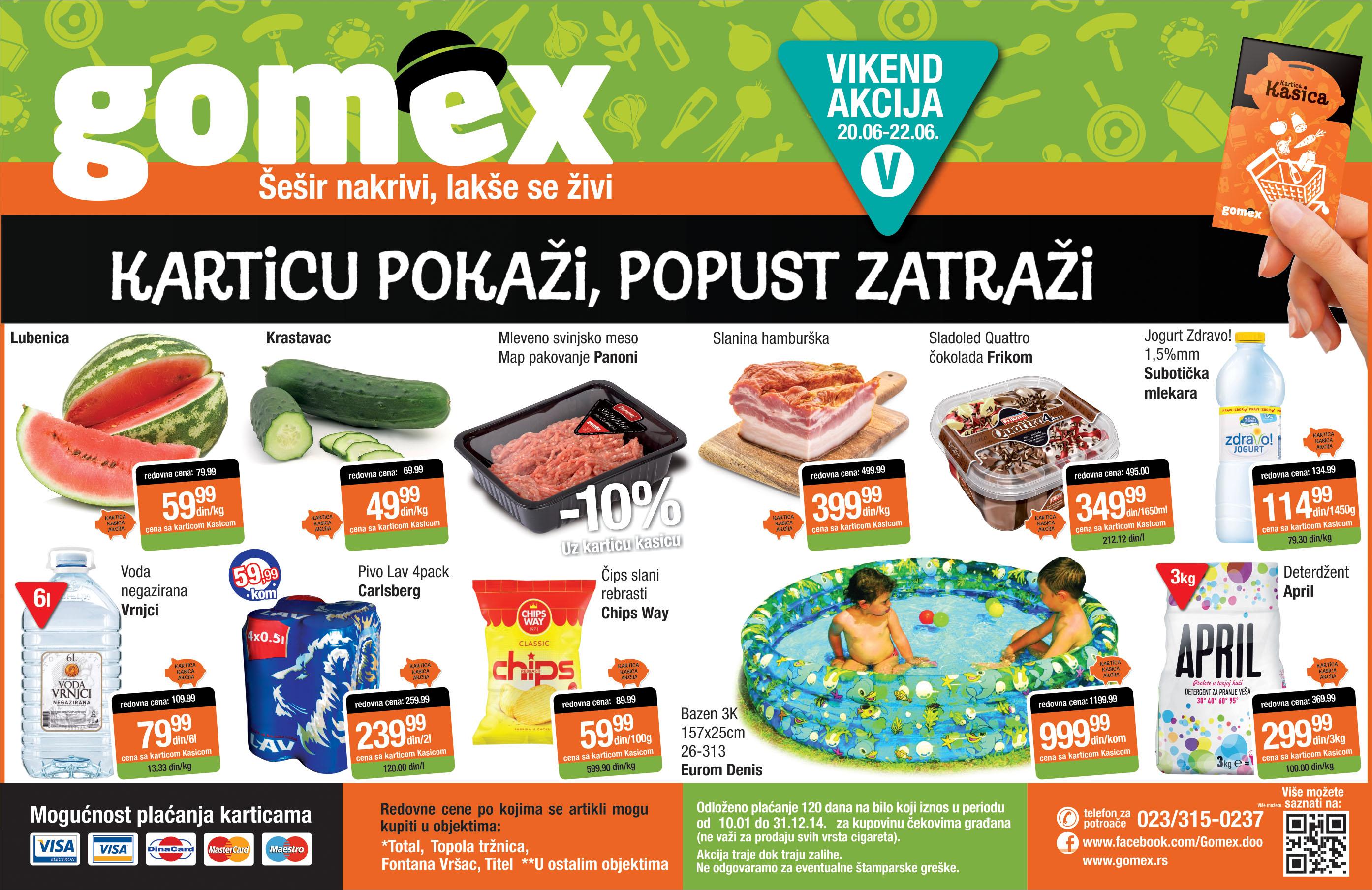 Gomex akcija vikend sjajne ponude za vas