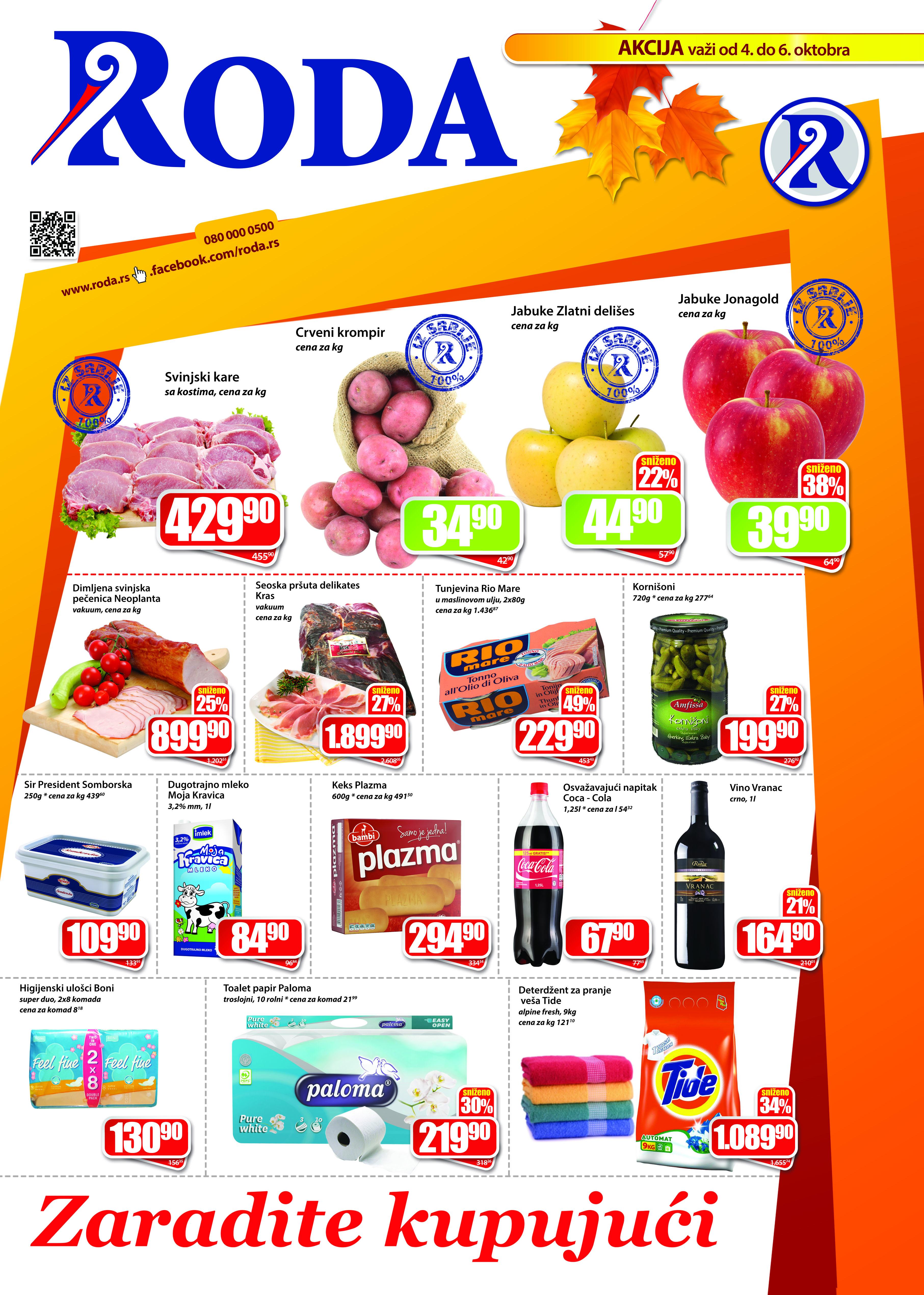 Roda katalog vikend dobre kupovine