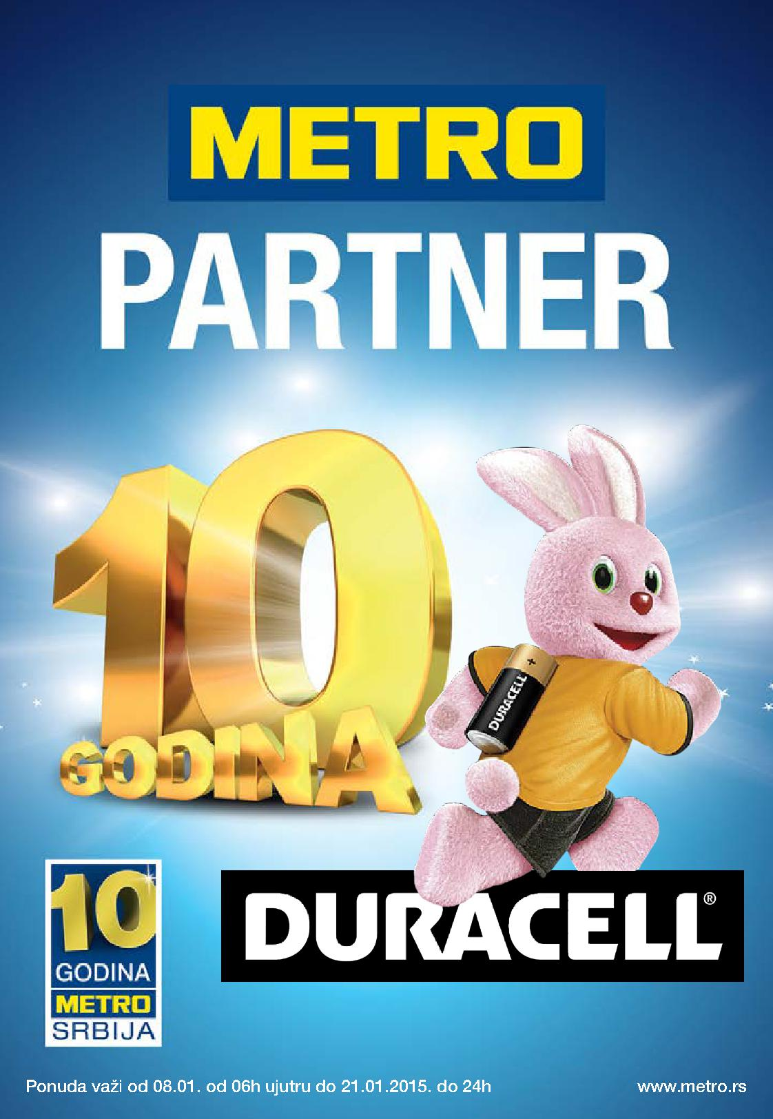 Metro akcija Duracell proizvoda