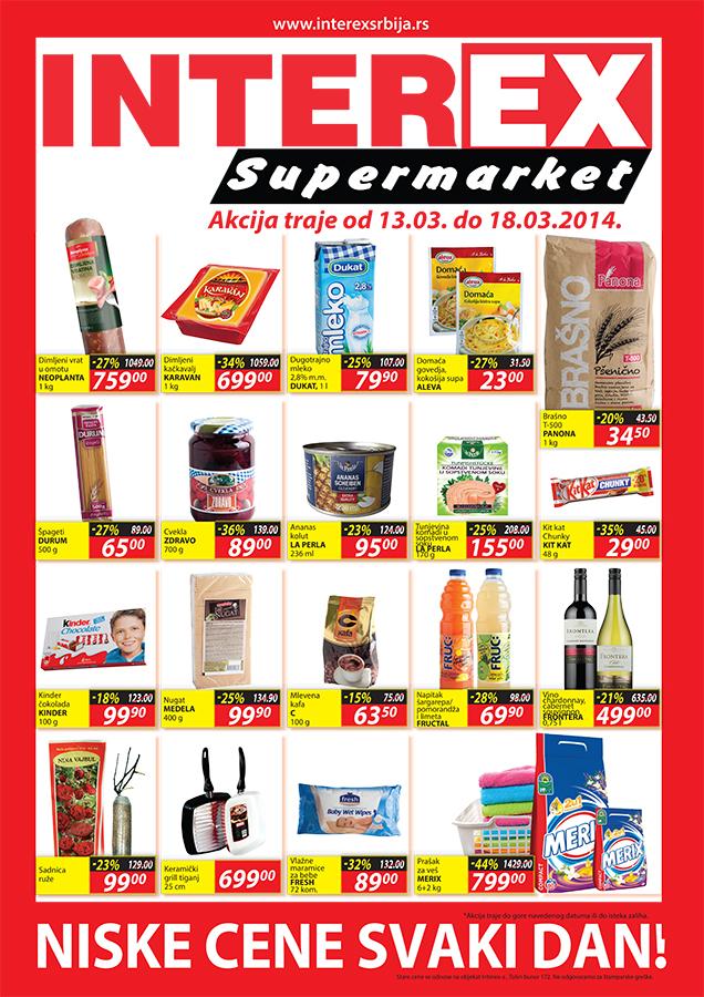 Interex katalog super ponuda za vas