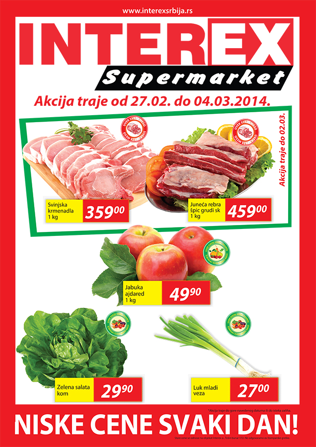 Interex katalog vikend super cena počinje